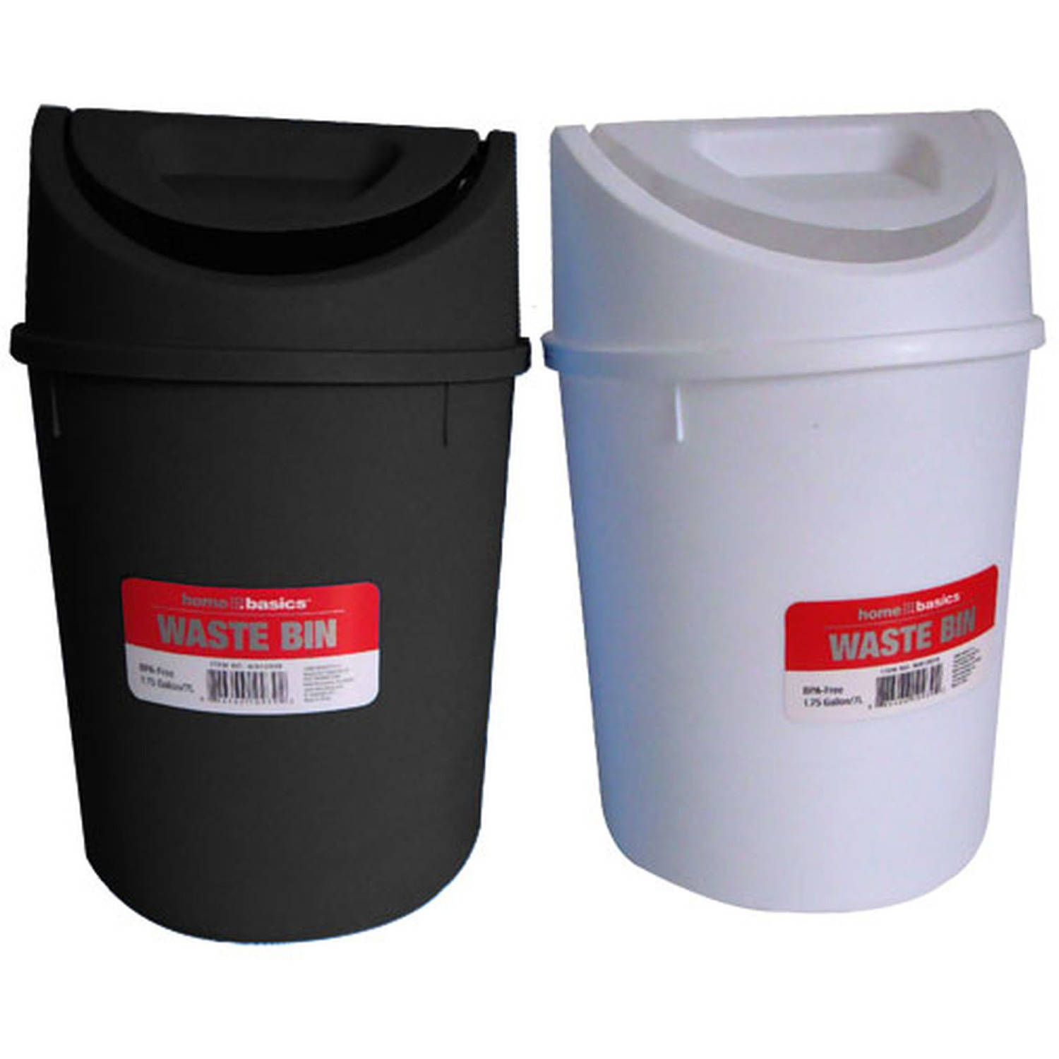 Home Basics Plastic 7 L Waste Bin