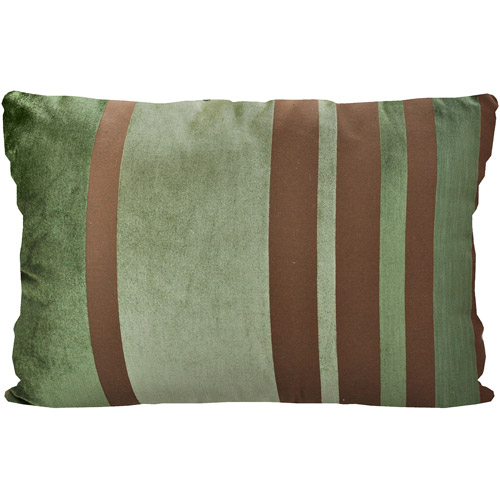 Better Homes and Gardens Velvet Stripe Pillow