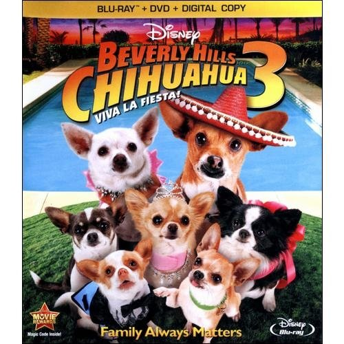 Beverly Hills Chihuahua 3: Viva La Fiesta! (Blu-ray + DVD + Digital Copy) (Widescreen)