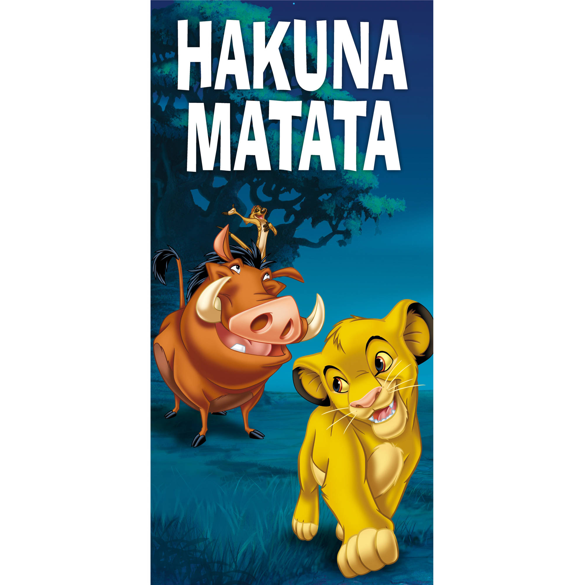 Disney Lion King Simba Beach Towel