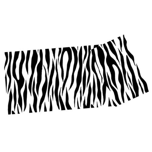 Yoga Mat in Zebra Print