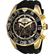 Invicta Men's 26301 Speedway Quartz Multifunction Gold, Black Dial Watch
