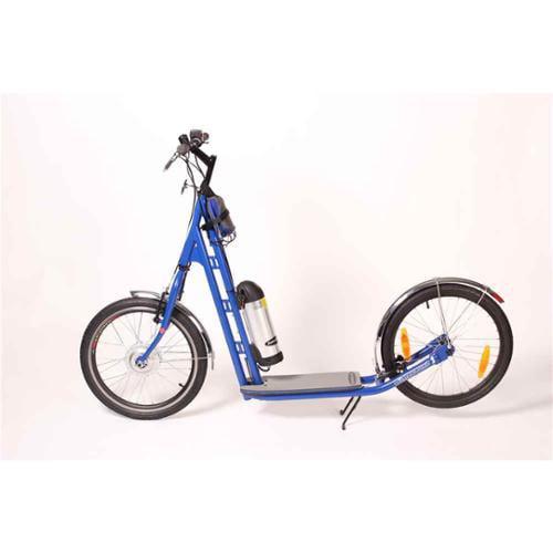 Zumaround Electric Hybrid Kick Scooter (Blue)
