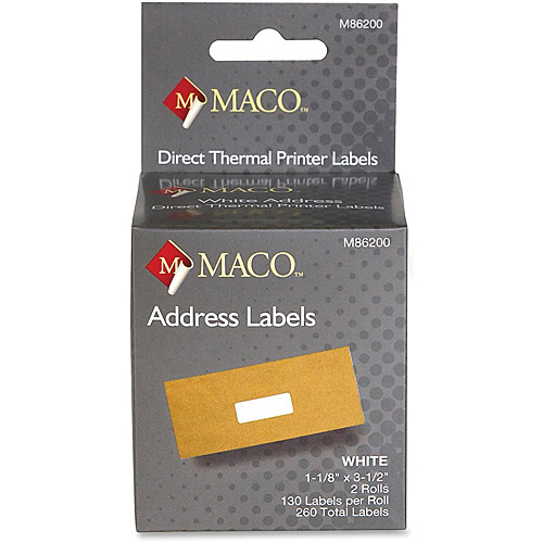 Maco Direct Thermal Printer Labels