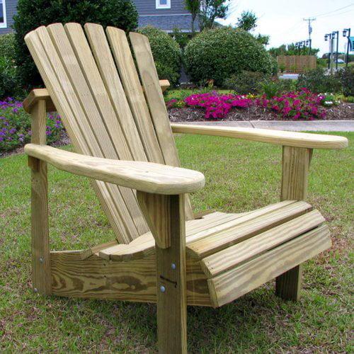 Weathercraft Designers Choice Pine Adirondack Chair - Natural