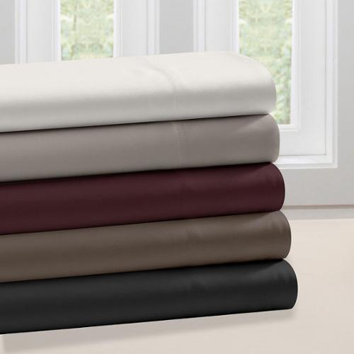 Premier Comfort Matte Satin Sheet Set Queen-Ivory
