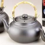 Joyce Chen Ebony-ceramic 2 Qt Tea Kettle