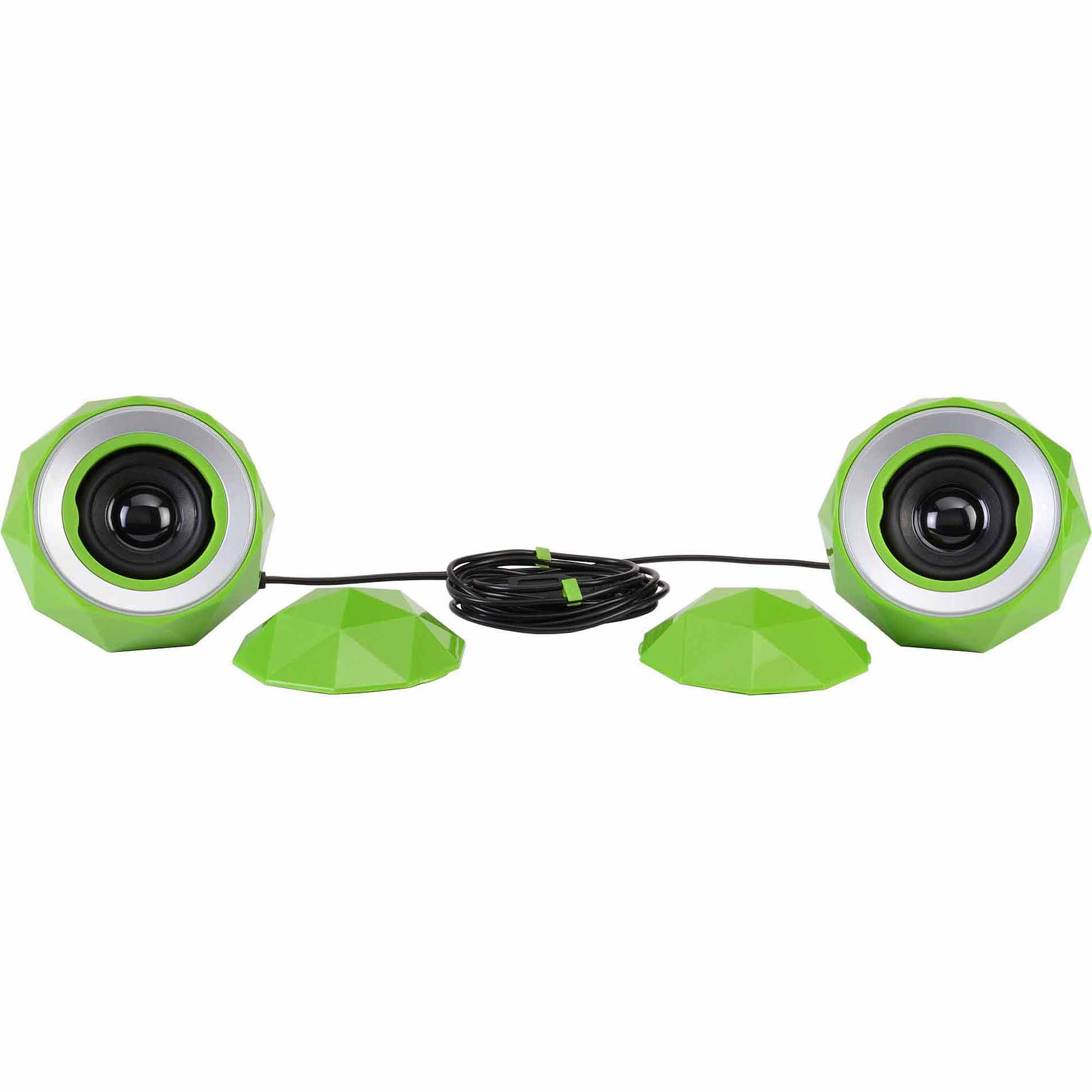 Digital Treasures PowerBall X2 Speakers, Green