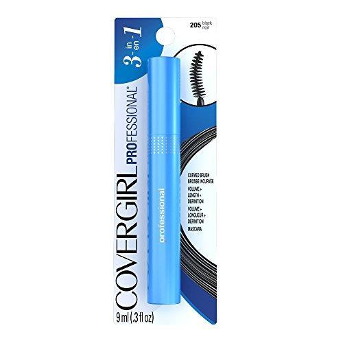 CoverGirl Professional Mascara Curved Brush - Black 205 - 0.3 oz