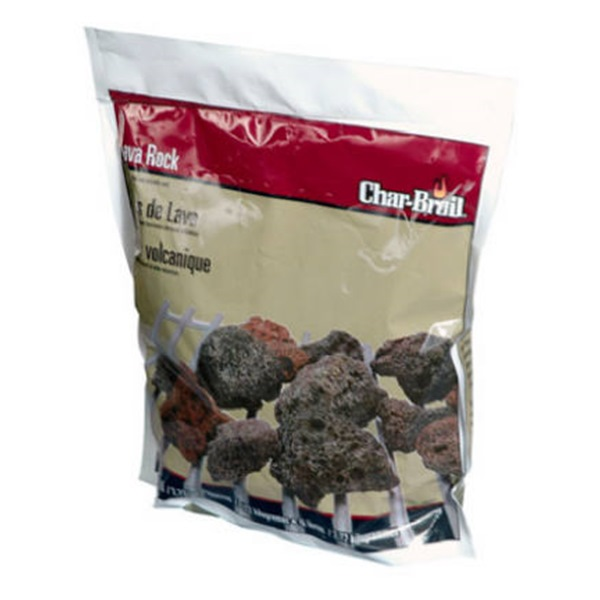 CHAR-BROIL/NEW BRAUNFELS Lava Rocks, 6-Lb.