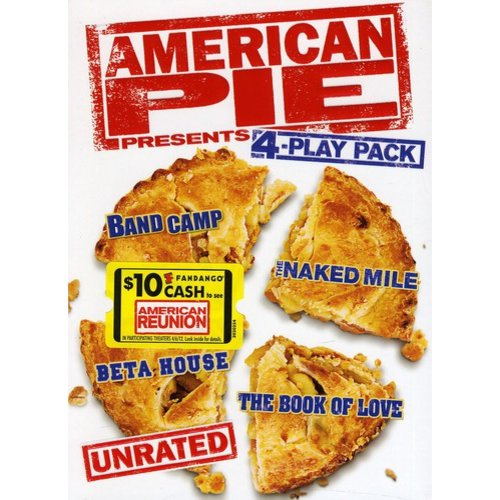 American Pie Presents: Unrated 4-Play Pack - Band Camp / Beta House / The Book of Love / The Naked Mile (Anamorphic Widescreen)