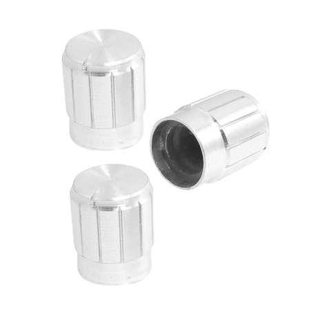 "6mm 15/64"" Shaft Hole 0.51"" x 0.67"" Potentiometer Control Knob 3 Pcs Rkipm - image 1 of 1"