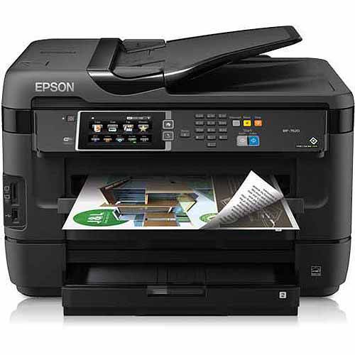 Epson WorkForce WF-7620 All-in-One Printer/Copier/Scanner/Fax Machine