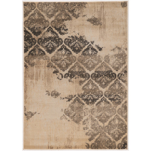 Linon Rugs Jewell Beige Area Rug