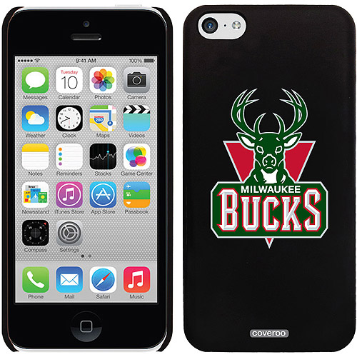 Milwaukee Bucks Design on iPhone 5c Thinshield Snap-On Case by Coveroo