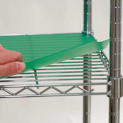 5GRL8 Shelf Liner, 60 x 36 in., Green, PK4