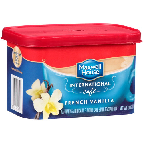 Maxwell House International Cafe French Vanilla Cafe Beverage Mix, 8.4 oz