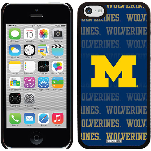 Coveroo Michigan Repeating Design Apple iPhone 5c Thinshield Snap-On Case