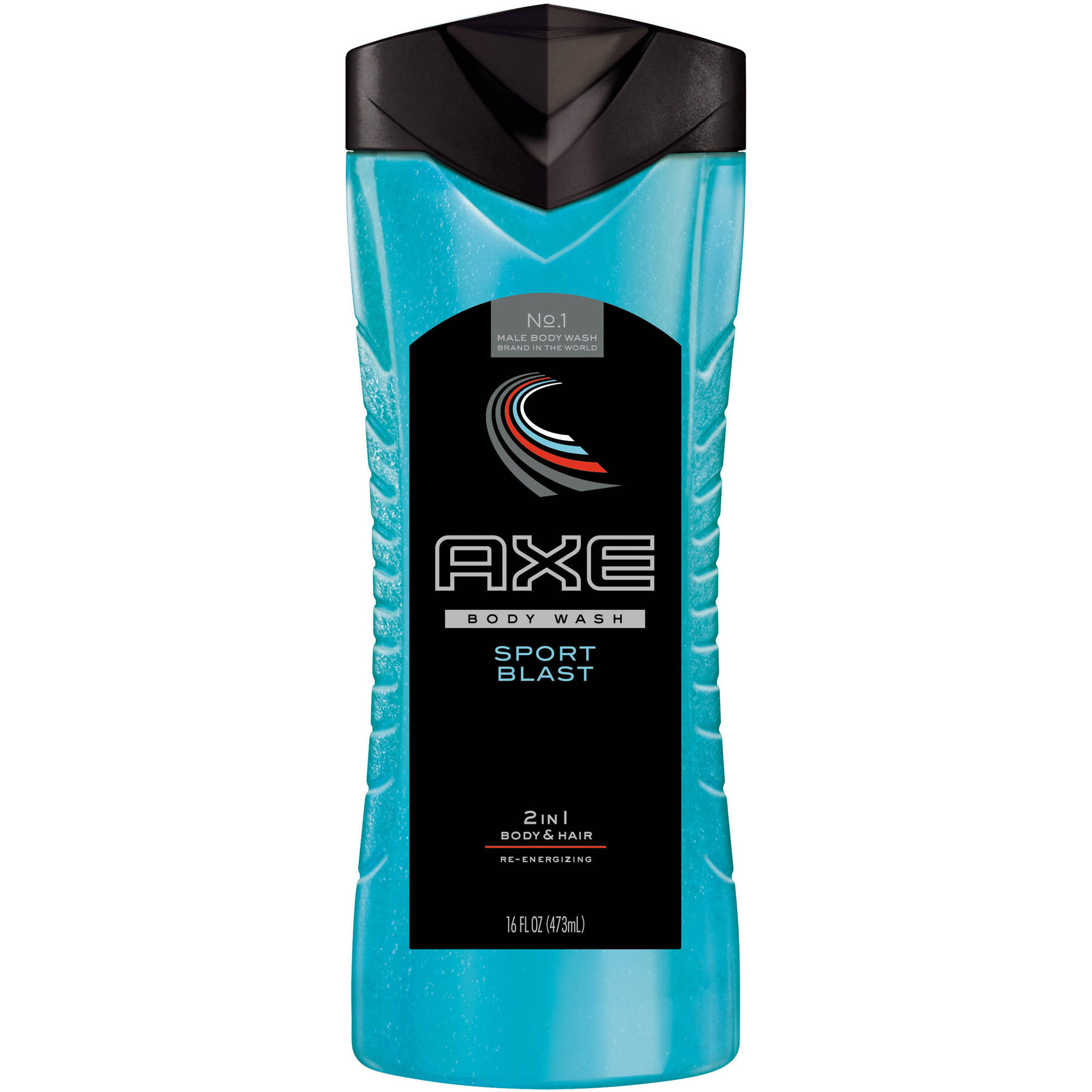 AXE Sport Blast 2 in 1 Body Wash and Shampoo, 16 oz