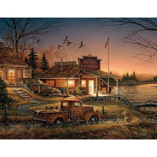 White Mountain Total Comfort Jigsaw Puzzle