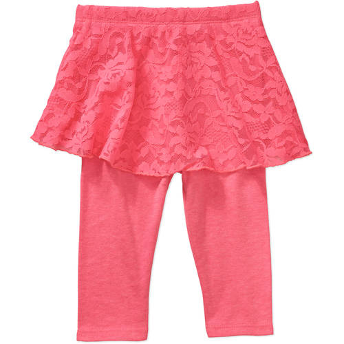 Garanimals Newborn Baby Girl Lace Skirt Skeggings