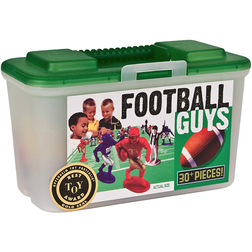 Kaskey Kids Football Guys Action Figure Set, Red Vs. Blue