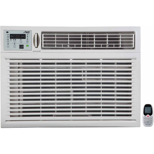 Arctic King WWK+15CR5 15,100-BTU Remote Control Cool Window Air Conditioner, White