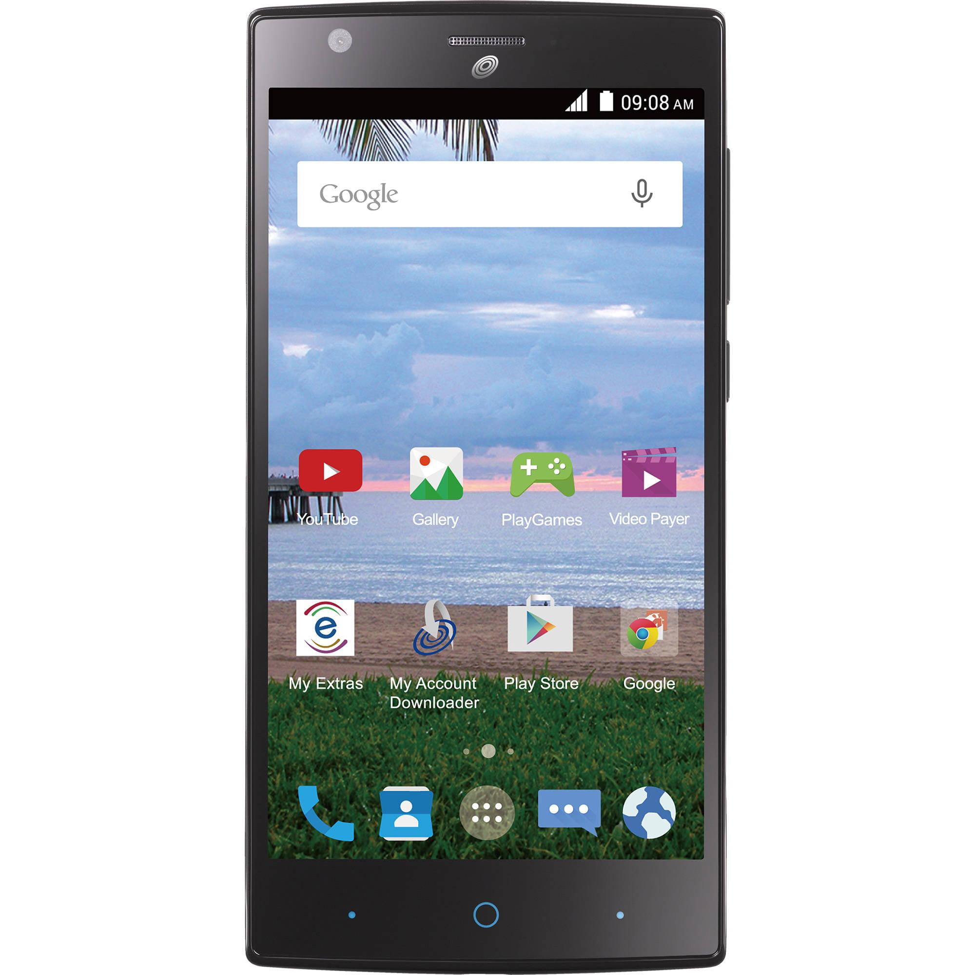 Straight Talk ZTE ZMAX 2 Android Prepaid Smartphone