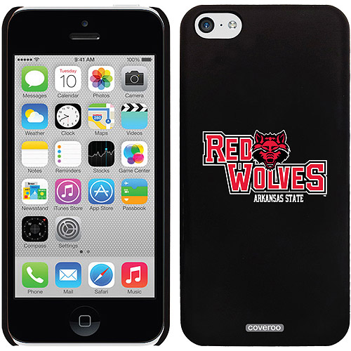 Arkansas State Primary Design on iPhone 5c Thinshield Snap-On Case by Coveroo