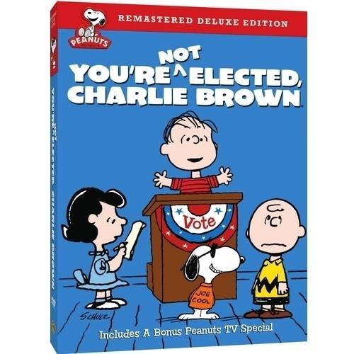 PEANUTS-YOURE NOT ELECTED CHARLIE BROWN (DVD/DELUXE EDITION)