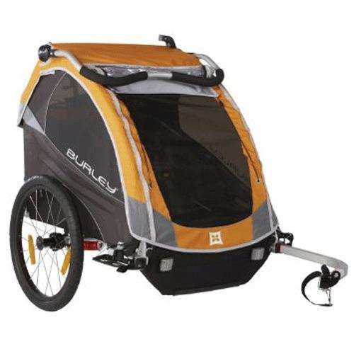 Burley 948305 D Lite Bike Trailer Orange