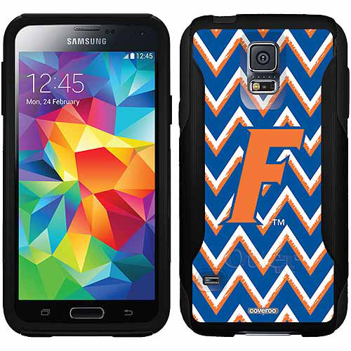 University of Florida Sketchy Chevron Design on OtterBox Commuter Series Case for Samsung Galaxy S5
