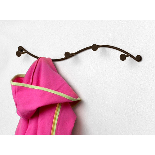 Spectrum Diversified Sweep Single 5 Hook Coat Rack