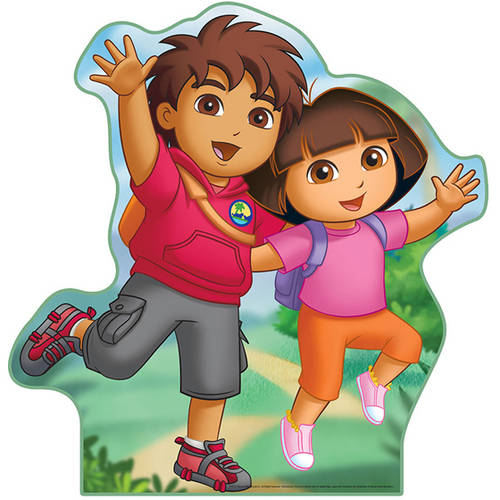 Dora and Diego Standee