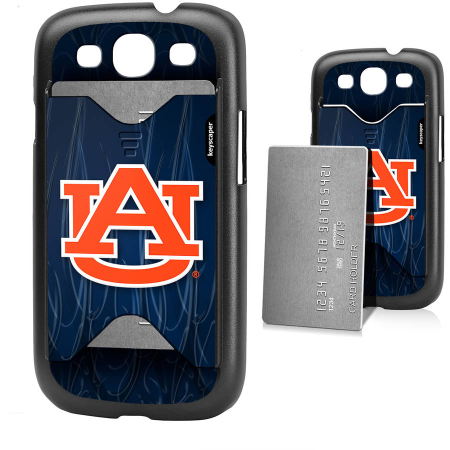 Auburn Tigers Galaxy S3 Credit Card Case