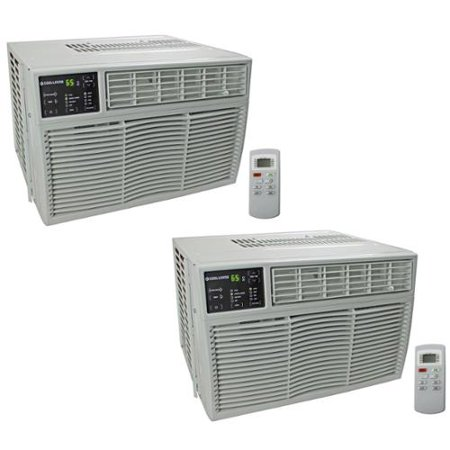 2 arctic king 8 000 btu energy star window mount room air for 15 width window air conditioner