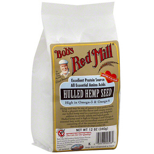 Bob's Red Mill Hulled Hemp Seed, 12 oz (Pack of 4)