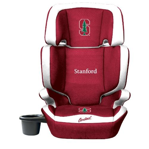 NCAA High Back Booster Seat by Lil Fan, 2-in-1 - Stanford Cardinal