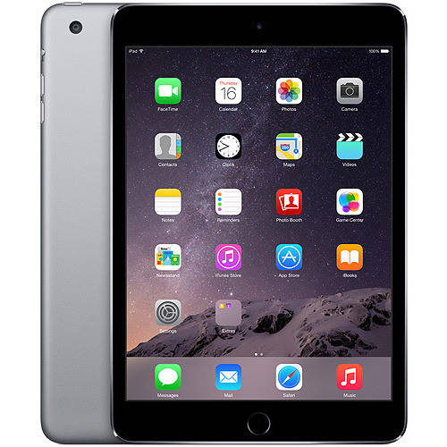 Refurbished Apple iPad mini 3 64GB Wi-Fi, Space Gray