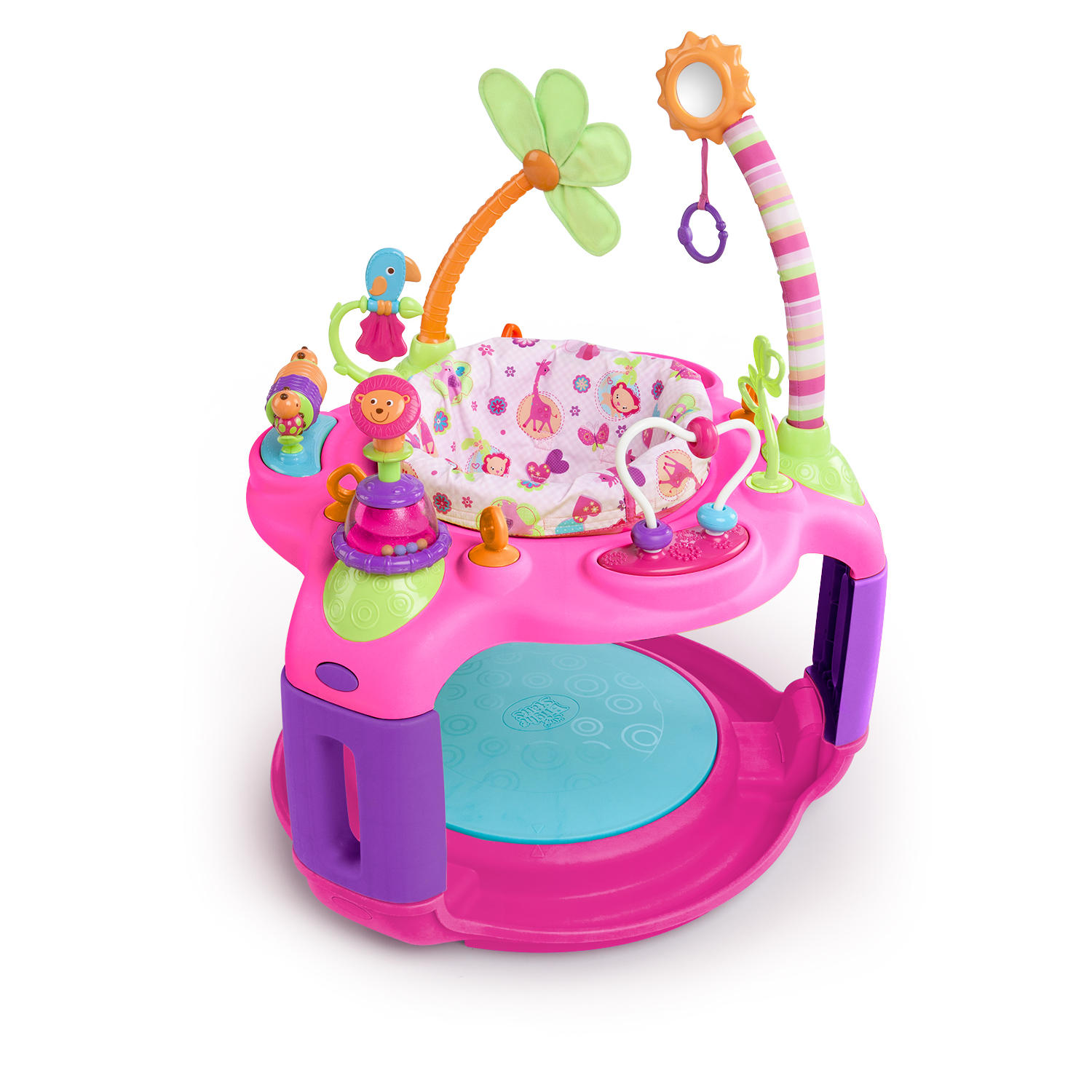Bright Starts Sweet Safari Bounce-A-Round Entertainer