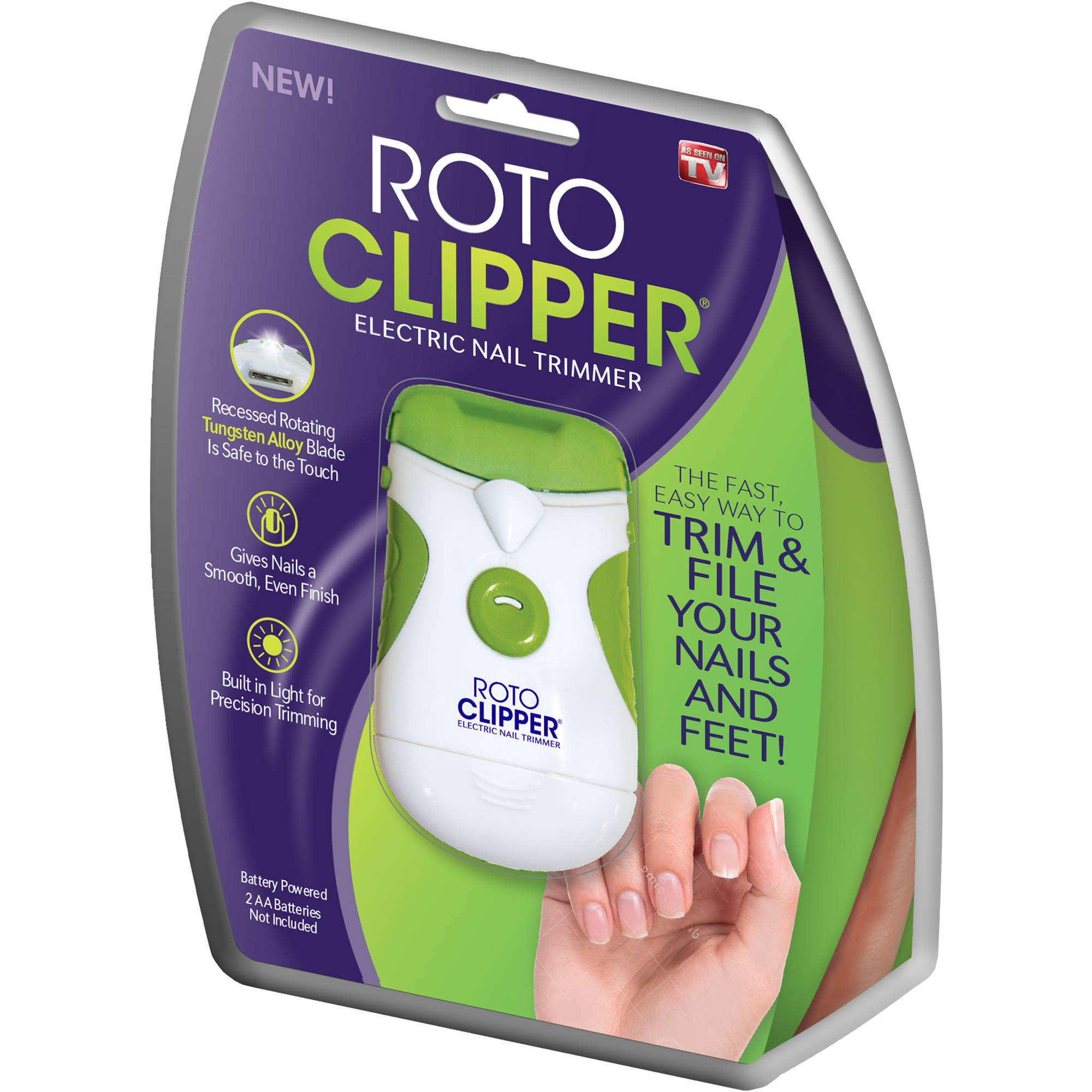Roto Clipper Electronic Nail Trimmer