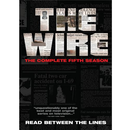 WIRE-COMPLETE 5TH SEASON (DVD/4 DISC/P&S)