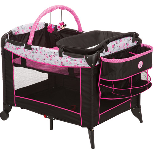 Disney Baby Minnie Mouse Sweet Wonder Play Yard, Garden Delight