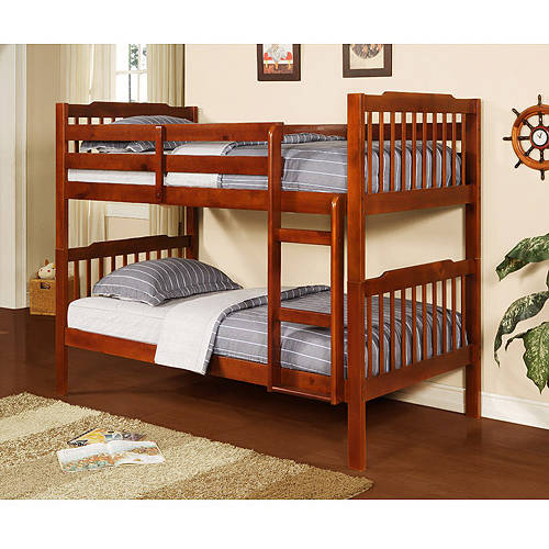 Elise Bunk Bed, Mahogany
