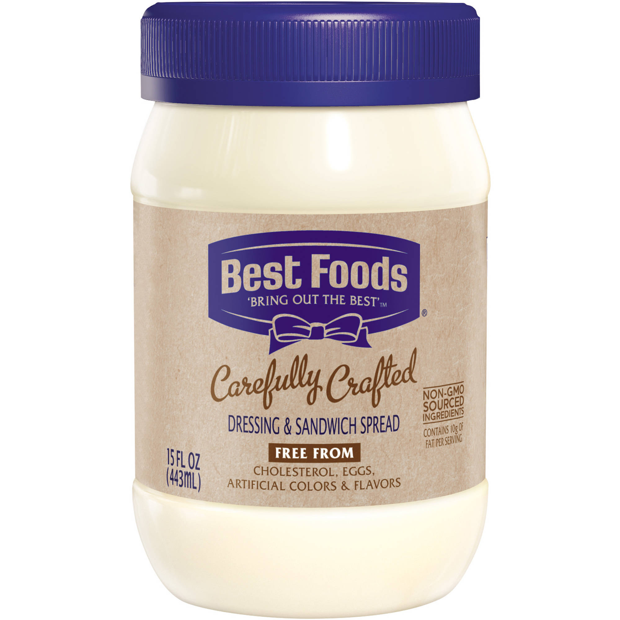 Best Foods Carefully Crafted Dressing and Sandwich Spread, 15 oz