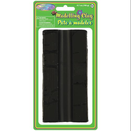 Modeling Clay 190grams/Pkg-Black
