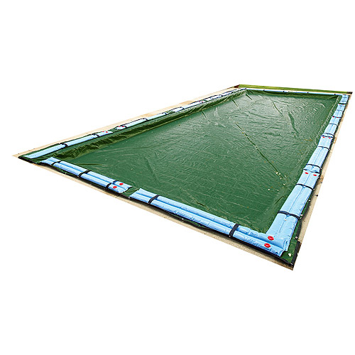 Blue Wave Silver 12-Year 20' x 40' Rectangular In-Ground Pool Winter Cover