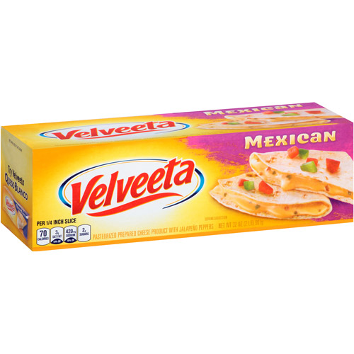 Kraft Velveeta Mexican Mild Cheese, 32 oz