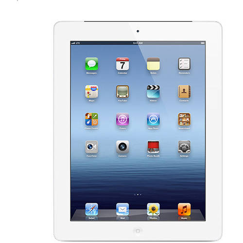 Apple iPad 3rd 32GB White + AT Refurbished