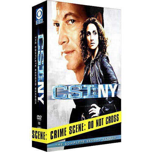 CSI NY-2ND SEASON (DVD/6 DISCS)